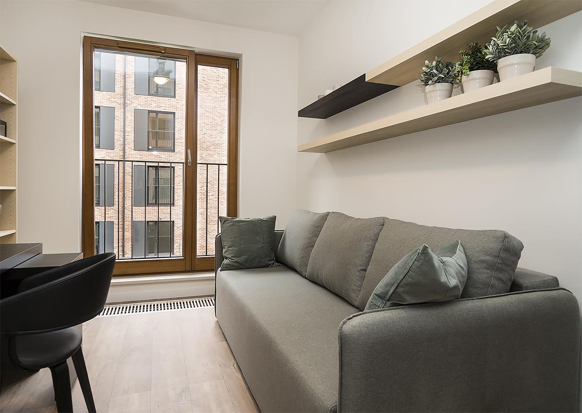 Jersey  (Metropolitan E) Apartment in Browar Lubicz in Krakow Old Town, Two bedroom apartment - LANDMARK APARTMENTS